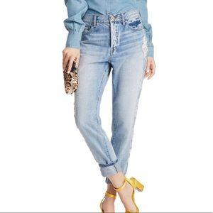 Pistola Distressed High-Rise Boyfriend Jeans